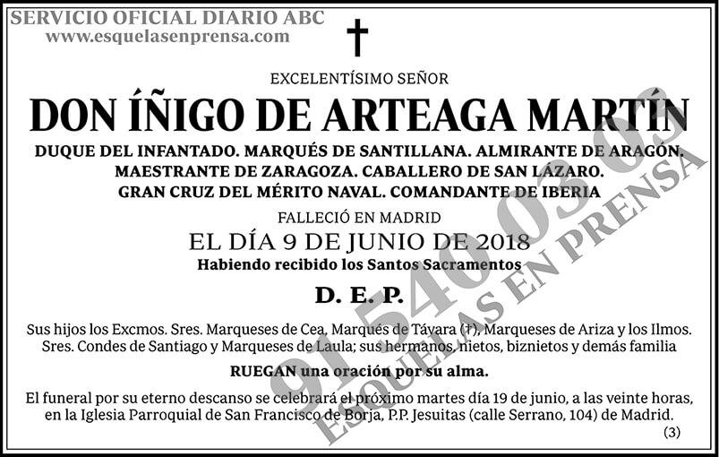 Íñigo de Arteaga Martín
